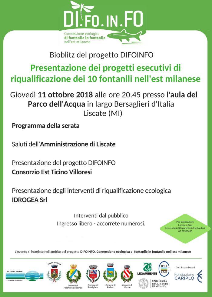 locandina invito 11 ottobre progetto difoinfo