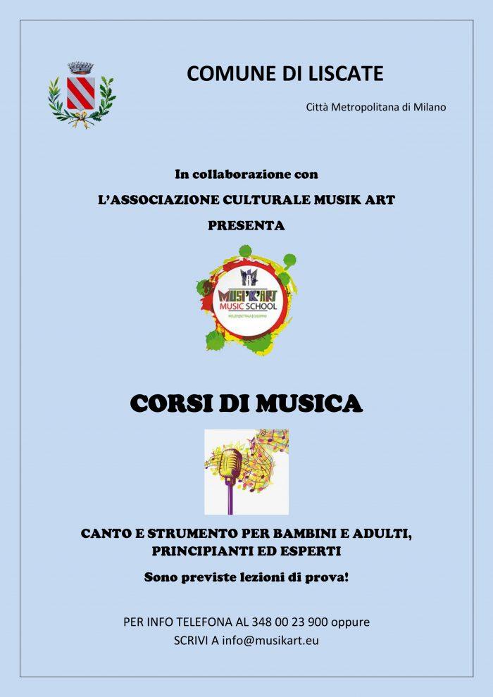 locandina corsi musica musikart