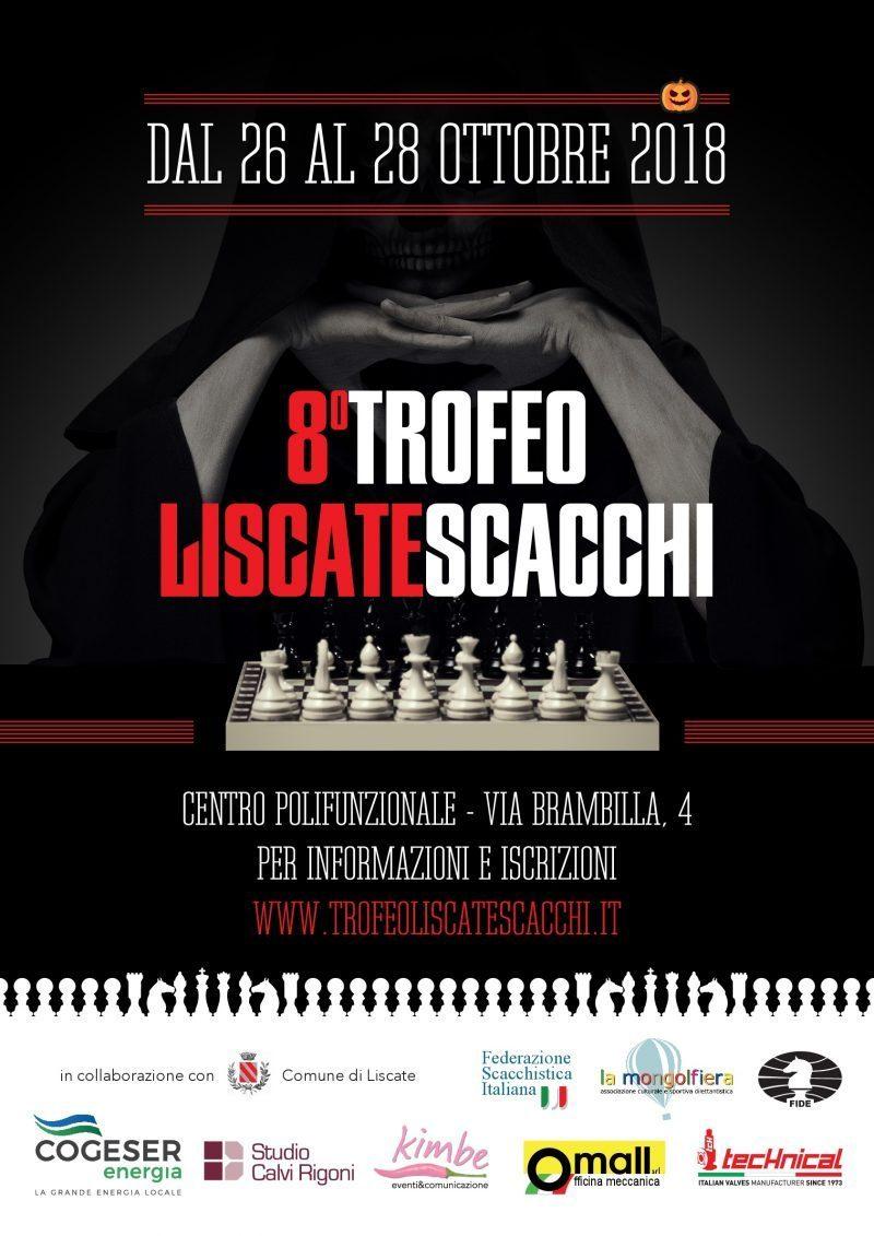 locandina torneo scacchi 26-28 ottobre 2018